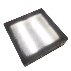 Плитка тротуарная светящаяся (светодиодная брусчатка) LED Brick, 200*200*40 мм., IP67, цвет белый