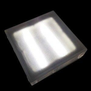 Светодиодная брусчатка LED Lumbrus, 200*200*40 мм., светильник для тротуарной плитки, белый, 12V, IP68
