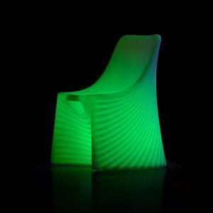 Кресло светящееся (светомебель) LED Waves 2, светодиодное, разноцветное (RGB), IP65