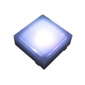 """Cветильник для тротуарной плитки """"Светодиодная брусчатка"""" LED Forms, 100*100*40 мм., IP68, RGB, 12V"""