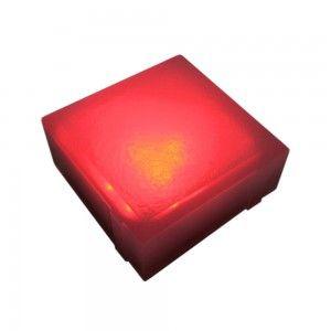 Плитка тротуарная светящаяся (светодиодная брусчатка) LED Brick, 100*100*40 мм., IP67, разноцветный (RGB)