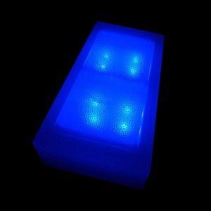 Светодиодная брусчатка LED LUMBRUS 100x200x60 мм. синяя IP68 — Купить в интернет-магазине LED Forms