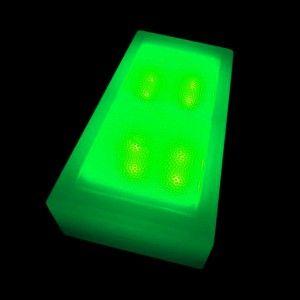 Светодиодная брусчатка LED LUMBRUS 100x200x60 мм. зелёная IP68 — Купить в интернет-магазине LED Forms