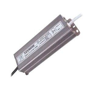 Блок питания для тротуарных светильников (LED брусчатки), 12V, IP67, 60 Вт.