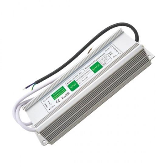 Блок питания для тротуарных светильников (LED брусчатки), 12V, IP67, 150 Вт.