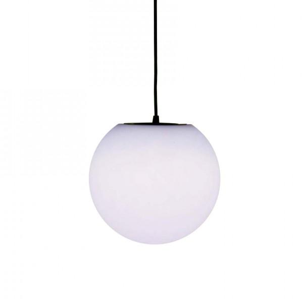 Шар подвесной светящийся LED, диам. 20 см., цвет тёплый или холодный белый, 220V