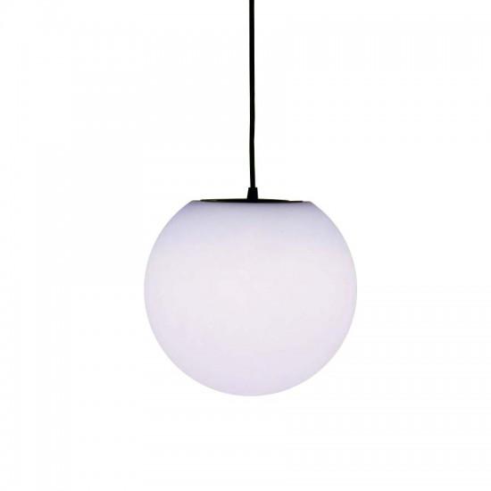 Подвесной светильник MOONBALL P20, светодиодный шар 20 см. белый IP65 — Купить в интернет-магазине LED Forms