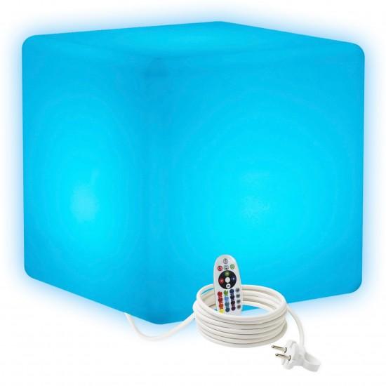 Cветильник куб LED CUBE 60 см. разноцветный RGB с пультом ДУ IP65 220V — Купить в интернет-магазине LED Forms