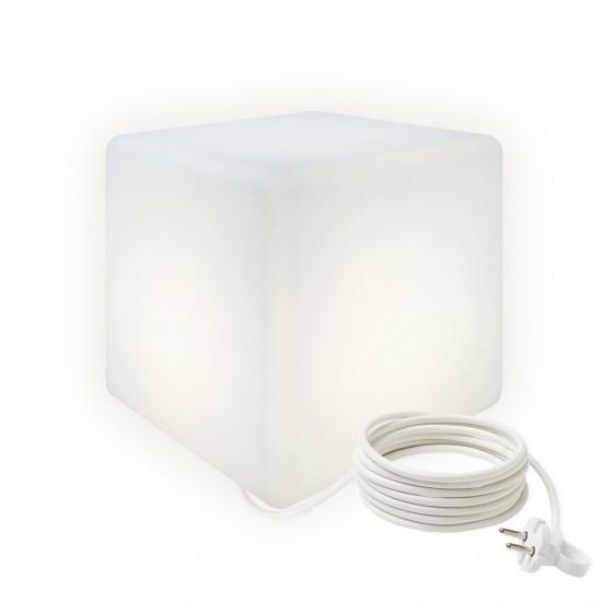 Cветильник LED Куб 20 см., светодиодный, белый, IP65, 220V