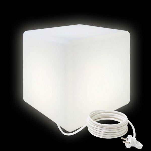 Cветильник LED Куб 30 см., светодиодный, белый, IP65, 220V