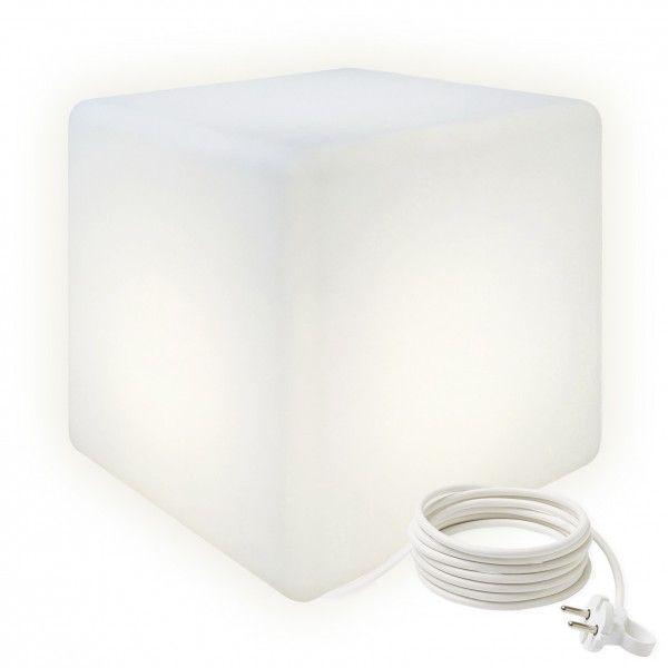 Cветильник куб LED CUBE 40 см. светодиодный белый IP65 220V — Купить в интернет-магазине LED Forms