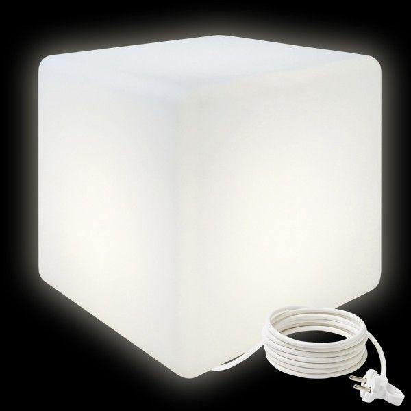 Cветильник куб LED CUBE 50 см. светодиодный белый IP65 220V — Купить в интернет-магазине LED Forms