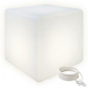 Cветильник куб LED CUBE 60 см. светодиодный белый IP65 220V