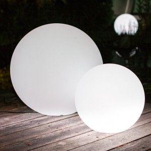 Cветильник LED Шар Moonball E60, ландшафтный, диаметр 60 см., белый, IP65, 220V