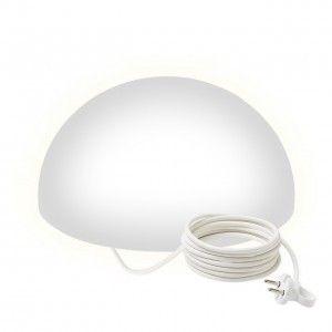 Полусфера светящаяся LED, 40*20 см., цвет белый, IP65, 220V