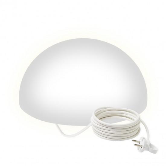Светильник полусфера LED HEMISPHERE 40 см. светодиодный белый IP65 220V — Купить в интернет-магазине LED Forms