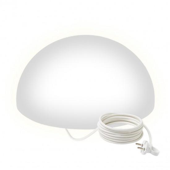 Светильник полусфера LED HEMISPHERE 50 см. светодиодный белый IP65 220V — Купить в интернет-магазине LED Forms