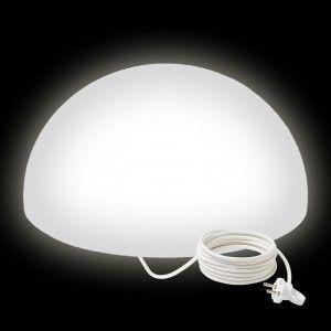 Светильник полусфера LED HEMISPHERE 60 см. светодиодный белый IP65 220V