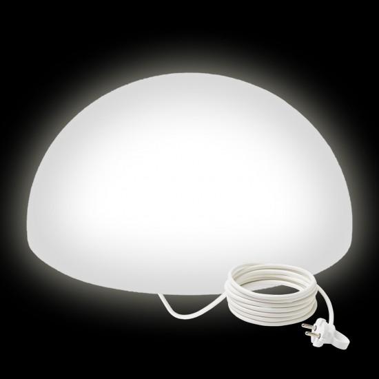 Светильник полусфера LED HEMISPHERE 60 см. светодиодный белый IP65 220V — Купить в интернет-магазине LED Forms
