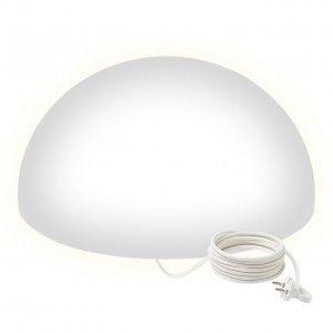 Полусфера светящаяся LED, 80*40 см., цвет белый, IP65, 220V