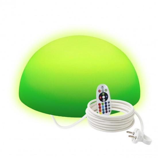 Светильник полусфера LED HEMISPHERE 40 см. разноцветный RGB с пультом ДУ IP65 220V — Купить в интернет-магазине LED Forms