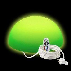 Полусфера светящаяся LED, 40*20 см., разноцветная (RGB), IP65, 220V