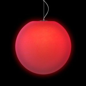 Подвесной светильник LED Шар Moonball P20, светодиодный, диаметр 20 см., разноцветный RGB, 220V