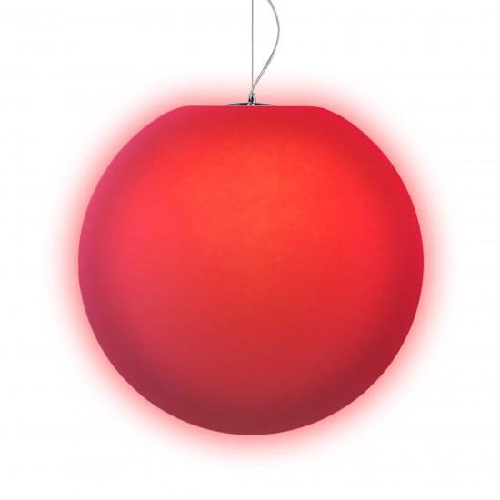 Подвесной светильник LED Шар Moonball P30, светодиодный, диаметр 30 см., разноцветный RGB, 220V