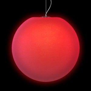 Подвесной светильник LED Шар Moonball P40, светодиодный, диаметр 40 см., разноцветный RGB, 220V