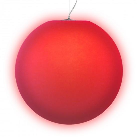 Подвесной светильник LED Шар Moonball P50, светодиодный, диаметр 50 см., разноцветный RGB, 220V