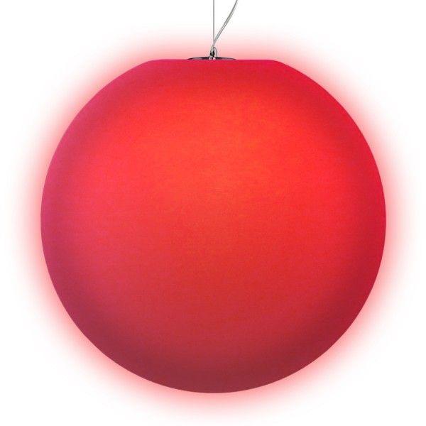 Подвесной светильник LED Шар Moonball P60, светодиодный, диаметр 60 см., разноцветный RGB, 220V