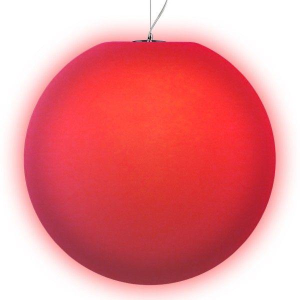 Подвесной светильник MOONBALL P80, светодиодный шар 80 см. разноцветный RGB с пультом ДУ IP65 — Купить в интернет-магазине LED F