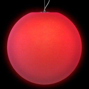 Подвесной светильник LED Шар Moonball P80, светодиодный, диаметр 80 см., разноцветный RGB, 220V