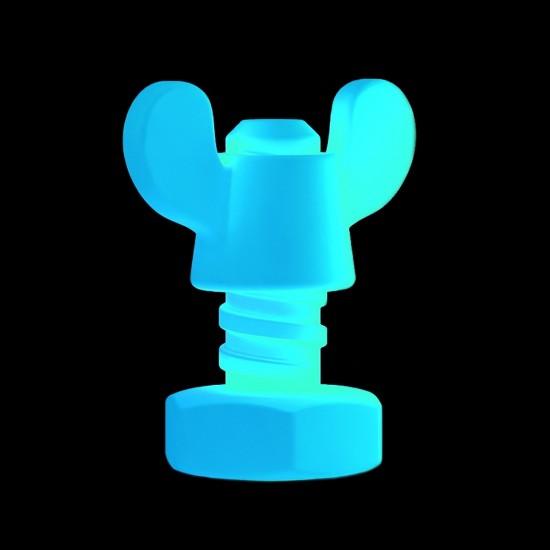 Световая фигура LED Nut (Гайка), светодиодная, разноцветная (RGB), пылевлагозащита IP65