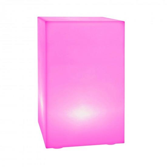 Тумба светящаяся LED Bora S, 30*30*70 см., светодиодная, разноцветная (RGB), 220V