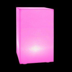 Световая тумба с аккумулятором LED DESK 70 см. с разноцветной RGB подсветкой и пультом USB IP65
