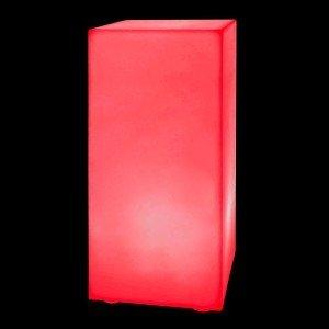 Тумба светящаяся LED Bora M, 30*30*90 см., светодиодная, разноцветная (RGB), 220V