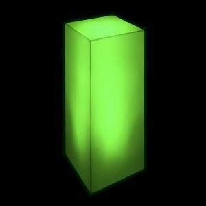 Тумба светящаяся LED Bora M, светодиодная, разноцветная (RGB), 220V