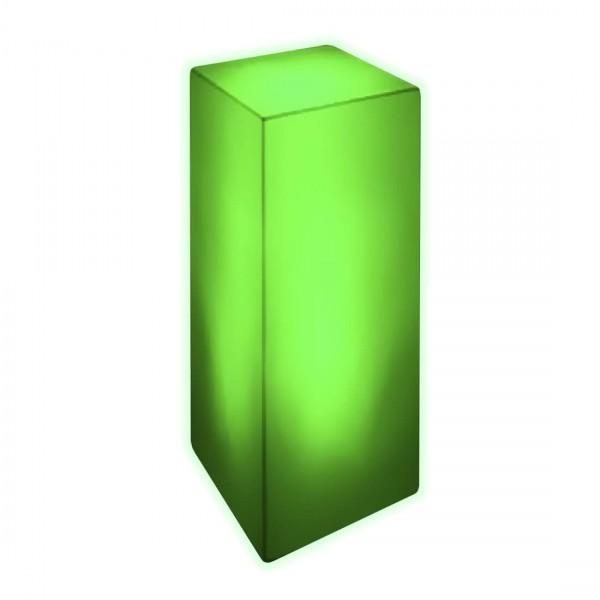 Тумба светящаяся LED Bora M, светодиодная, разноцветная (RGB), с аккумулятором