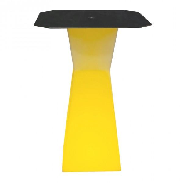 Светящийся барный стол с аккумулятором LED PRISM B 110 cм. разноцветный RGB с пультом IP65 — Купить в интернет-магазине LED Form