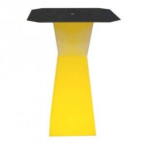 Светящийся барный стол с аккумулятором LED PRISM B 110 cм. разноцветный RGB с пультом IP65