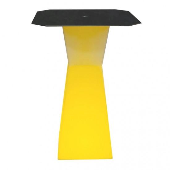 Светодиодный барный стол LED Prismo B, подсветка RGB, 16 цветов, с аккумулятором
