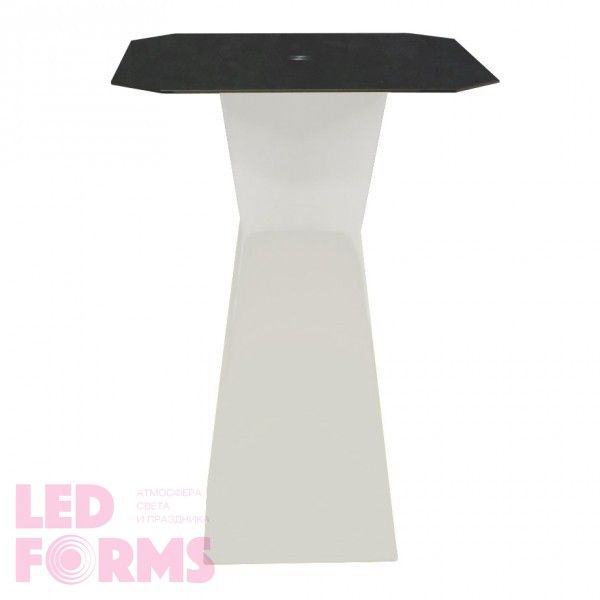Светодиодный барный стол LED Prismo B, белая подсветка, 220V