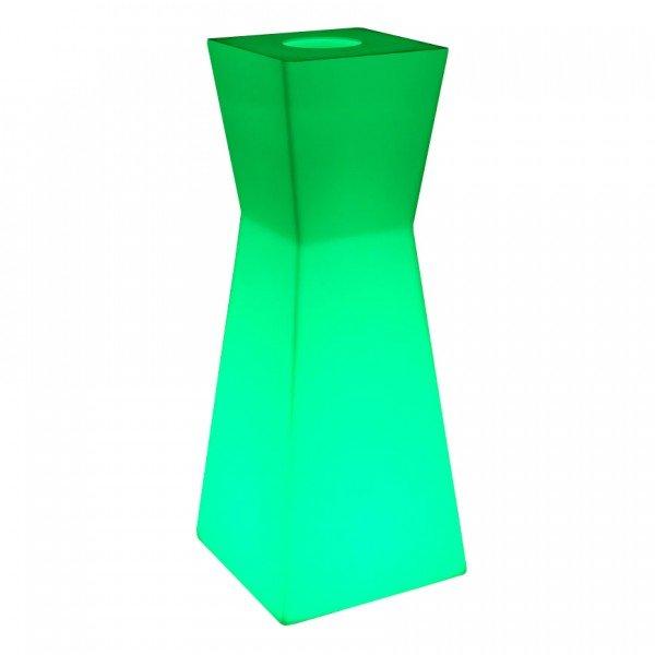 Светящаяся стойка ресепшн LED PRISM c разноцветной RGB подсветкой и пультом ДУ IP65 220V — Купить в интернет-магазине LED Forms