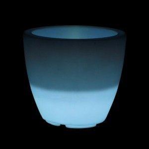 Кашпо светящееся (цветочница) LED Almelo S, высота 44,5 см., светодиодное, разноцветное (RGB), IP65