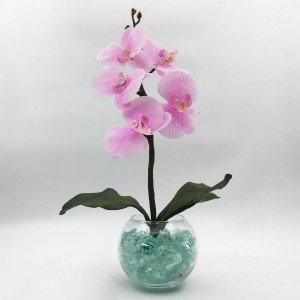 Светодиодные цветы LED Provocation, светильник-ночник, розовые орхидеи + синяя подсветка, USB, 220V