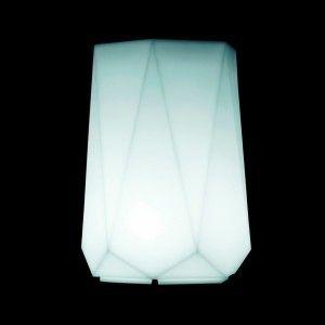 Светящееся кашпо для цветов LED BORNE-2 c разноцветной RGB подсветкой и пультом ДУ IP65