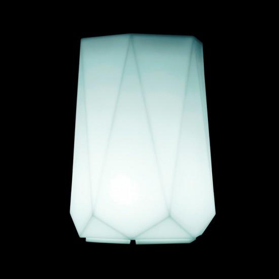 Кашпо светящееся (цветочница) LED Borne M, высота 82 см., светодиодное, разноцветное (RGB), пылевлагозащита IP65