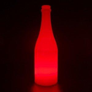 Беспроводная лампа-ночник с аккумулятором Бутылка LED BOTTLE разноцветная RGB с пультом USB IP65 — Купить в интернет-магазине LE