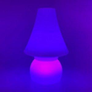 Беспроводная лампа-ночник с аккумулятором Гном LED DWARF разноцветная RGB с пультом USB IP65 — Купить в интернет-магазине LED Fo
